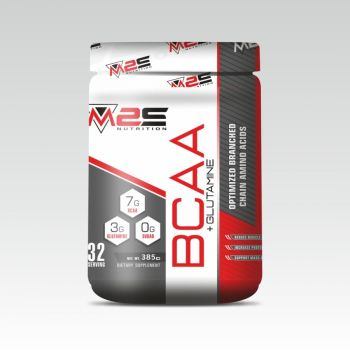 M2S BCAA + Glutamine Recovery and Endurance BCAA Powder
